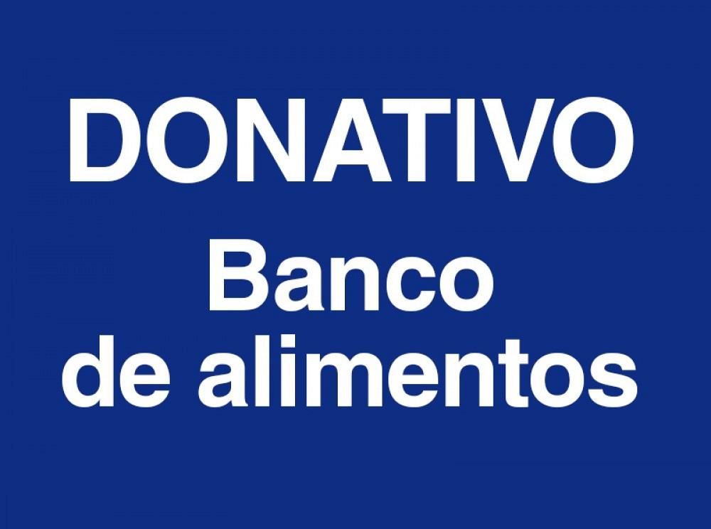Donativo 5,00€ para el banco de alimentos