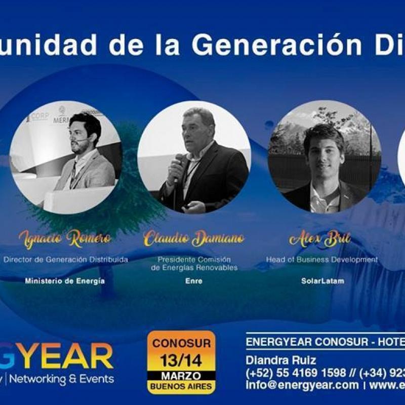 Energyear, Andina 2018-2